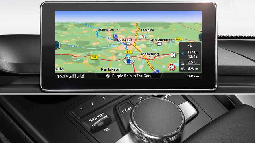 MMI Navigation plus med MMI touch®