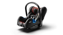 Audi baby seat I-SIZE, misano red/black or grey/black