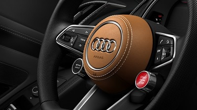 Pacote couro incl. tampa do airbag Audi Exclusive