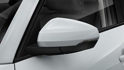 Außenspiegelkappen in Wagenfarbe
