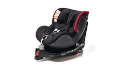 Kindersitz Dualfix i-Size, schwarz/rot
