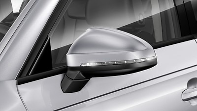 Door mirrors - electrically adjustable and heated