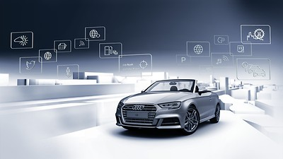 Audi Connect Infotainment Services, 3-month trial (embedded SIM)