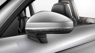 Door mirrors - electrically folding, adjustable and heated