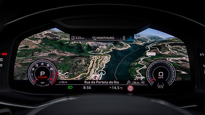 Audi Connect Navigation & Infotainment PLUS (3 ans incl. Google Earth)