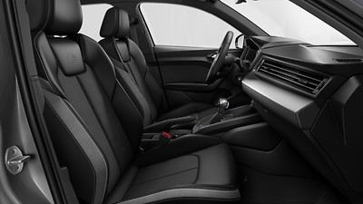 Alcantara Frequency/leatherette combination