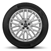Audi Sport cast aluminium alloy wheels, 10 Y-spoke design, size 7.5 J x 17, 215/40 R 17 tyres