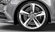 Audi Sport cast aluminium alloy wheels, 5-spoke blade design, size 9J x 20 with 265/35 R 20 tyres