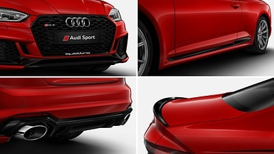 Glossy Black styling package Audi exclusive