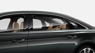 Heated and heat-reflecting windshield/ acoustic glazing