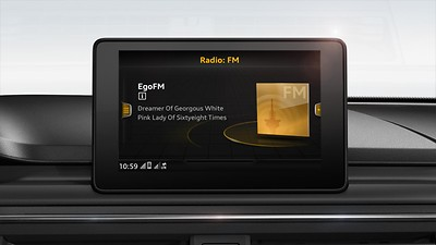 MMI-radio plus