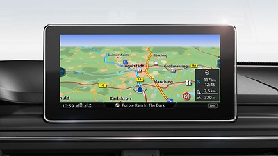 MMI® Navigation plus with MMI® touch