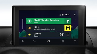 Audi smartphone interface (opcional)
