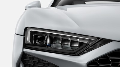 LED headlights with Audi Laser Light and High-beam assist