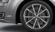 Легкосплавные диски Audi Sport, дизайн «5 спиц V», titan matt, с полированной обводкой, размер 9J x 19