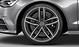 Легкосплавные диски Audi Sport, дизайн «5 двойных спиц», titan matt, с полированной обводкой, размер 8,5J x 20