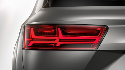 LED rear combination lamps with dynamic turn signal