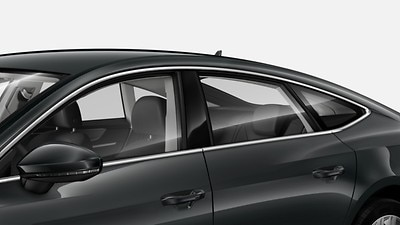 Acoustic glass for side windows