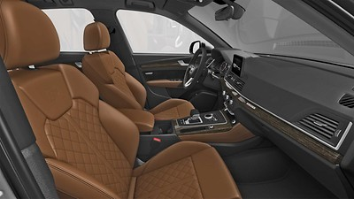 Audi exclusive edition Cognac
