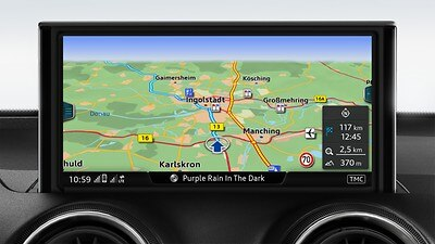 MMI Navigation plus med MMI touch