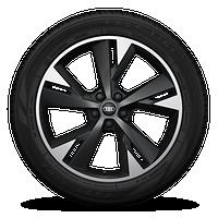 "20"" 5-Y-spoke design, graphite gray wheels"
