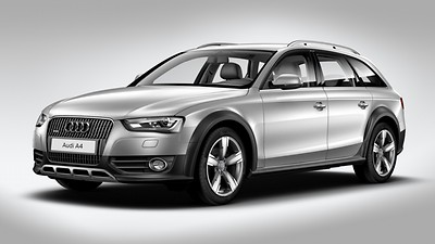 allroad-specific add-on parts in Matte Structured Gray