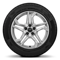 "18"" x 8.0J '5-twin spoke' dynamic design alloy wheels with 235/60 R18 tyres"