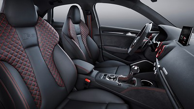RS design selection interior - Red