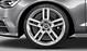 Audi Sport cast aluminium alloy wheels, 5-twin-spoke design, size 8.5J x 19, with 255/40 R 19 tyres