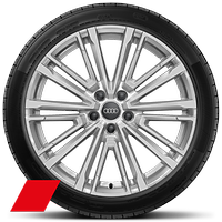 Audi Sport cast alloy wheels, 10-spoke V-style, 8.5J x 19 with 255/35 R19 tires