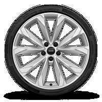 """20"""" 10-spoke-V-design wheels"""