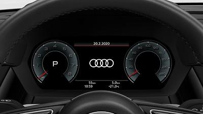 Audi virtual cockpit plus