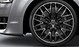Легкосплавные диски Audi Sport, дизайн «10 спиц Y», черные, c полированной обводкой, размер 9J x 20