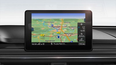 "MMI Navigation with 7"" colour MMI screen"