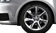 Cast aluminium alloy wheels, 7-spoke design, size 7.5J x 17, with 215/40 R tyres