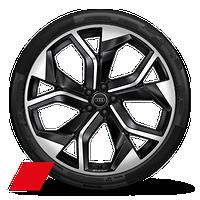 "23"" Audi Sport 5-Y-spoke rotor design anthracite wheels"