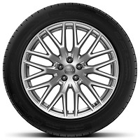 Audi Sport cast alloy wheels, 10-spoke Y-style, 9J x 20 with 285/45 R20 tires