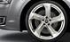 Audi Sport cast alum. alloy wheels, 5-arm turbine des., magnesium look, mach. pol., 9 J x 20, 265/40 R 20 tyres