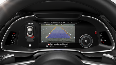 Parking System plus with reversing camera