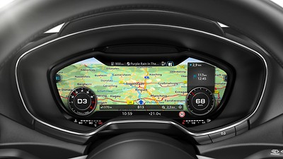 MMI Navigation plus mit MMI touch®