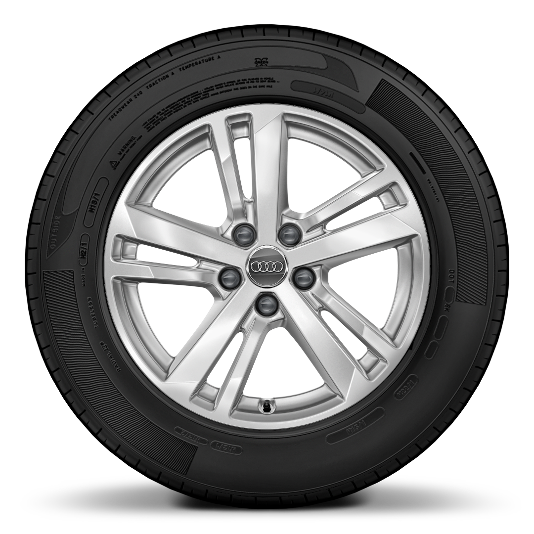 Alloy wheels 7J x 17