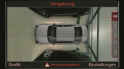 全景影像系统,须与电动折叠外后视镜、MMI高级导航一起选