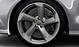 Легкосплавные диски Audi Sport, дизайн «5 рукавов Turbine», цвет magnesium, полированные, размер 9J x 20