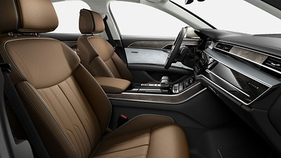 Leather trim (package 1) in Valcona leather, Audi exclusive