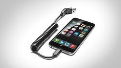 USB adapter, for mobile telephones with an Apple Lightning socket