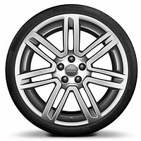 R20 x 9.5J '7-twin-spoke' design alloy wheels with 275/35 R20 tyres