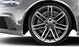 Forged aluminium alloy wheels, 7 twin-spoke design, machine-polished, size 9.5J x 20