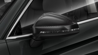 Exterior mirrors in carbon