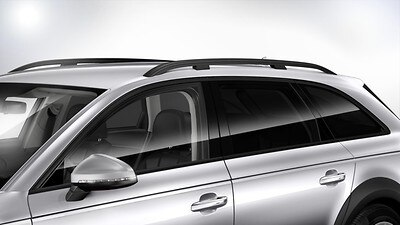 Privacy glass (for rear windows) and acoustic glass (for front side windows)