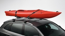 Kayak rack, with a tilt function